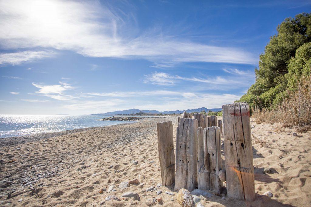 platja punta de riudecanyes senderisme mont-roig miami ruta 1